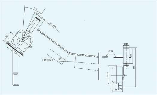kpt1两级跑偏开关接线图